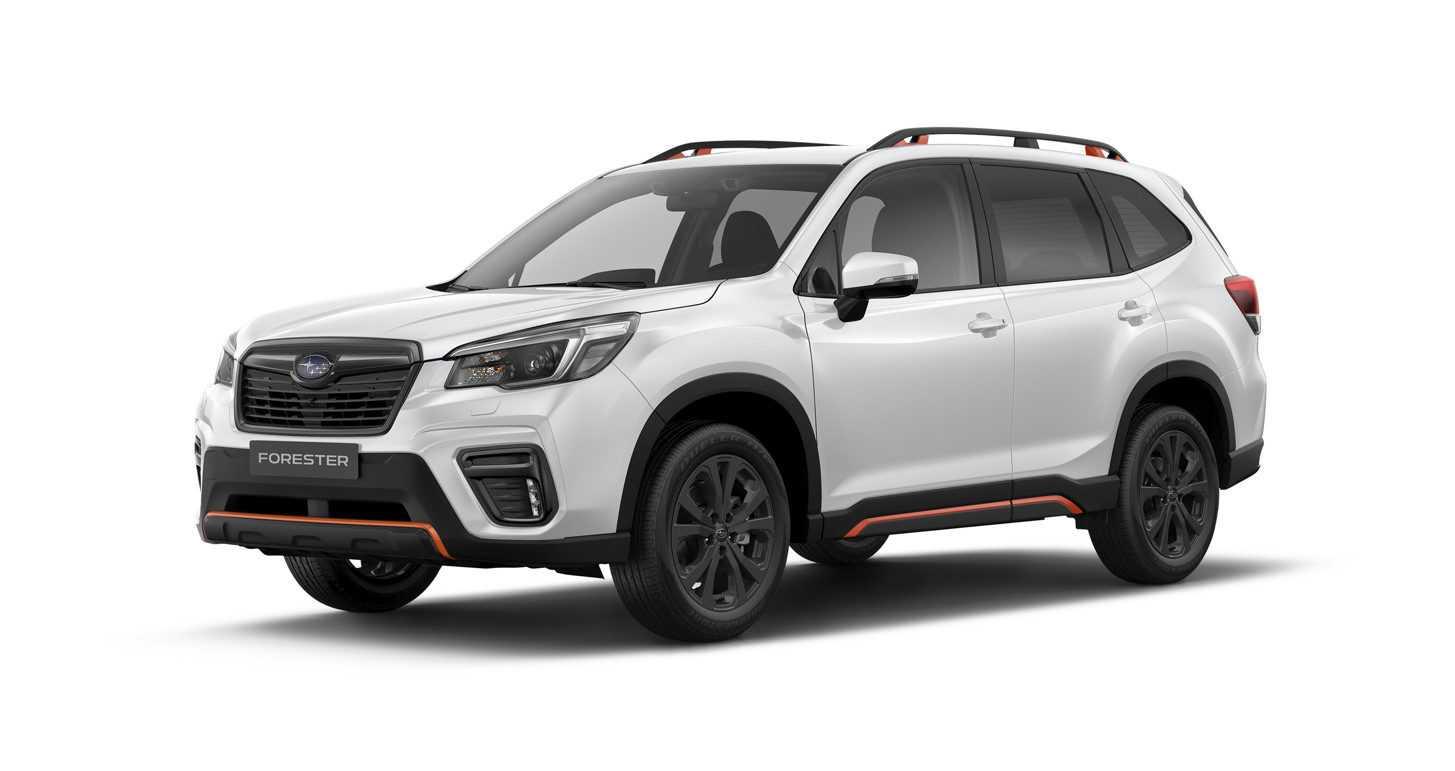 Subaru Forester Sport 2021 модельного года