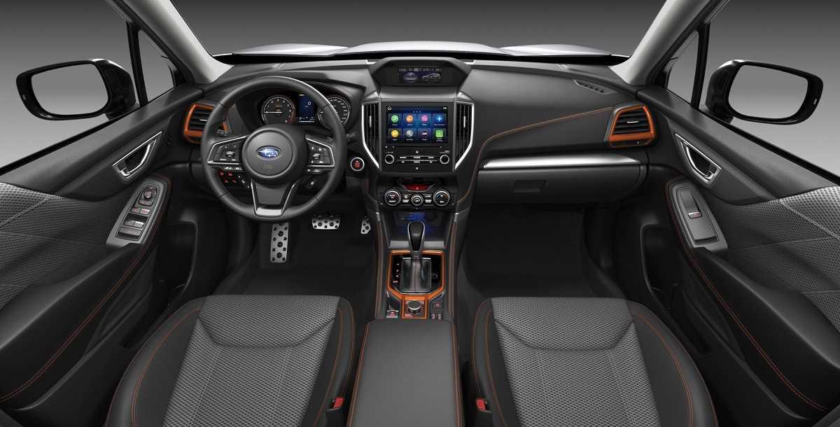 Салон Subaru Forester Sport 2021 модельного года